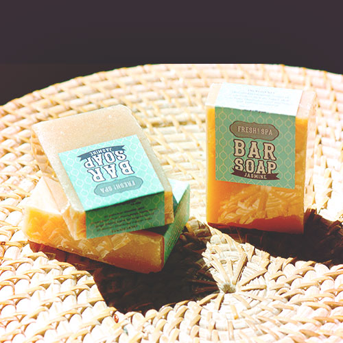 natural soap to buy at fresh spa ubud bali