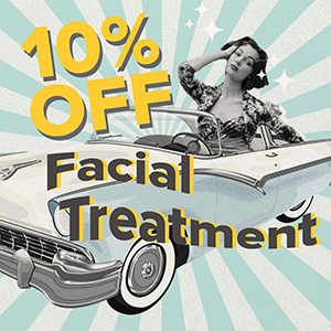 Promo Facial Treatment 10% Off