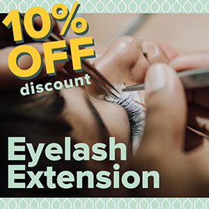 Promo Eyelash Extension 10% Off